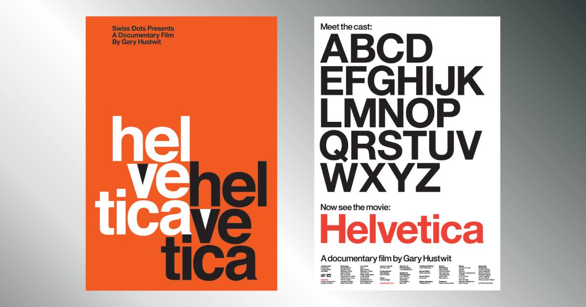 Helvetica, la película documental