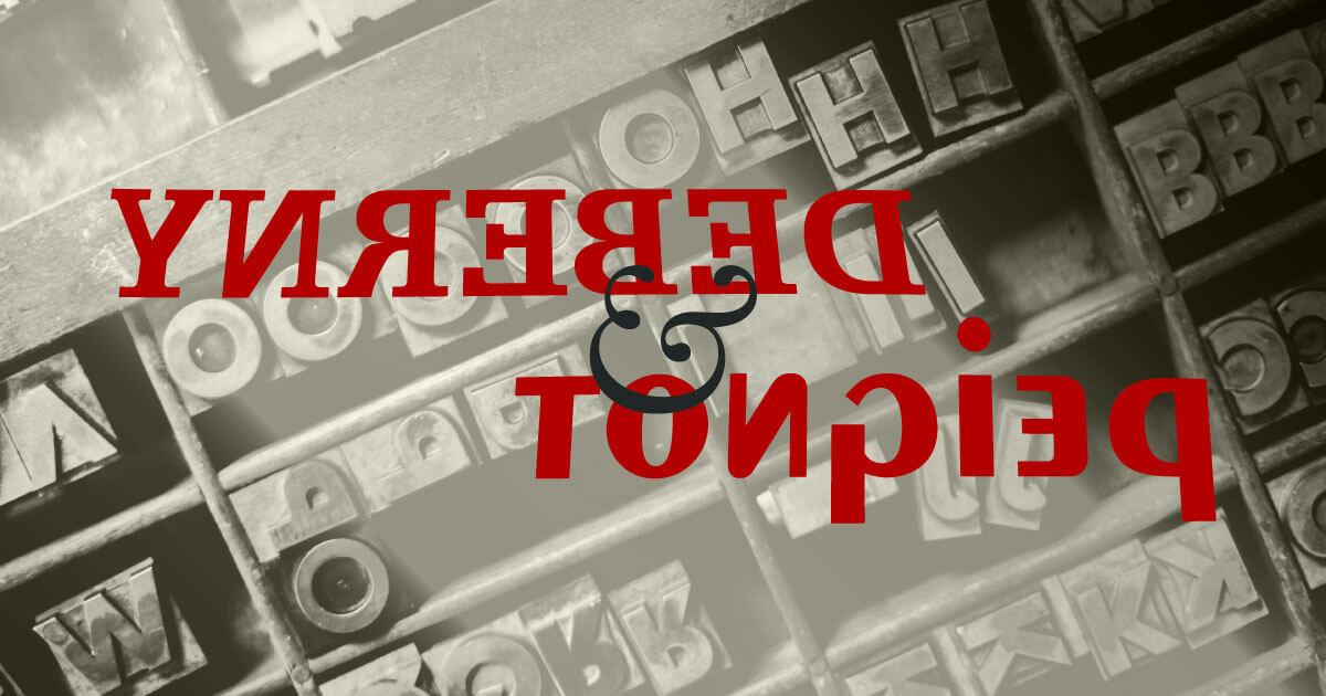 Deberny & Peignot · Fundición tipográfica