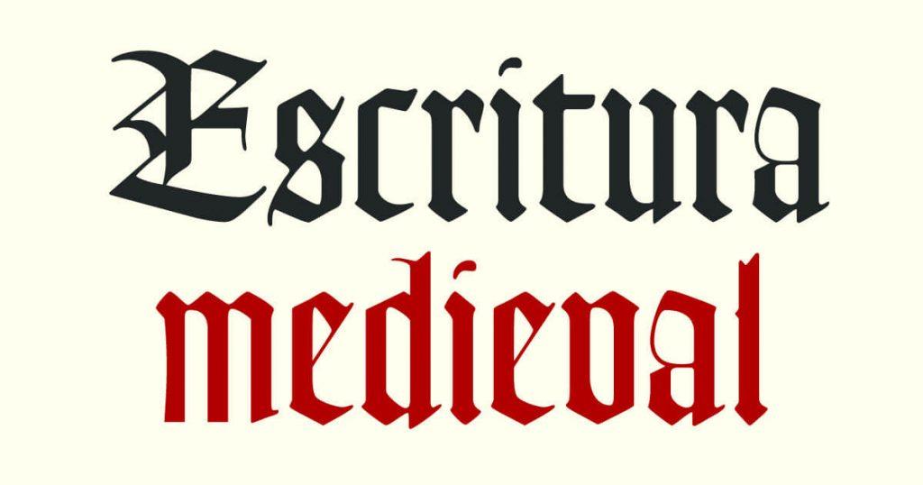 Tipografía medieval · Escritura medieval