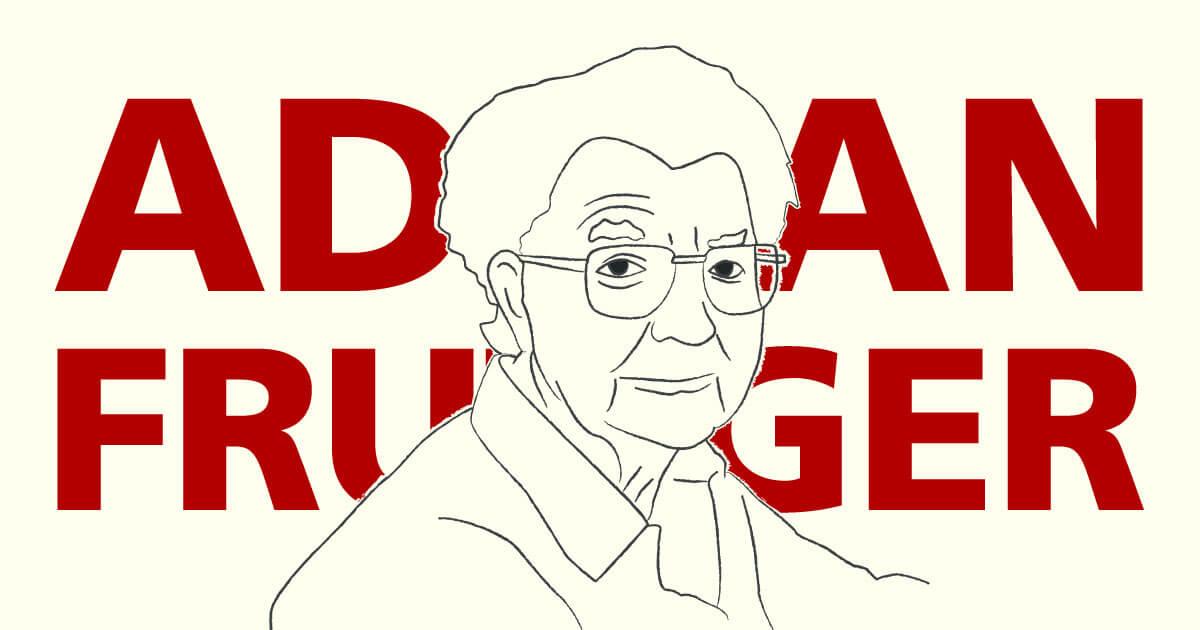 Adrian Frutiger · Tipógrafo